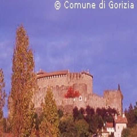 View of the Castle Gorizia Italy
