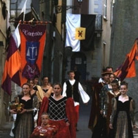 Historical pageant Lazio Italy