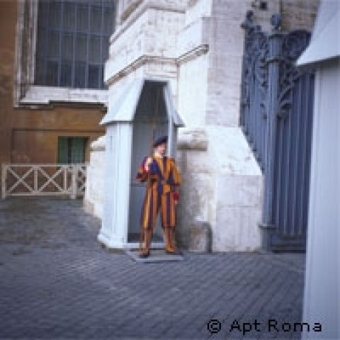 Swiss Guard Vatican City Rome Italy