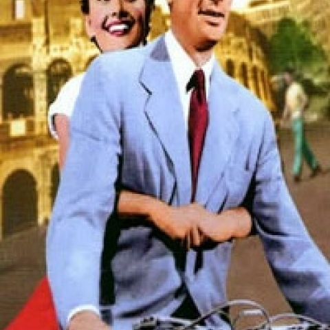 Roman Holiday movie set in Rome Italy