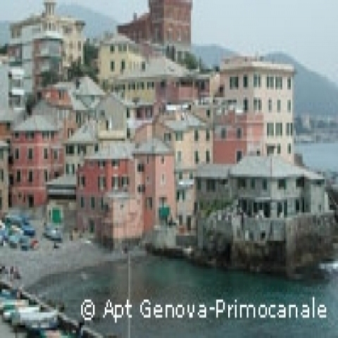A glimpse on Genova Pegli Italy