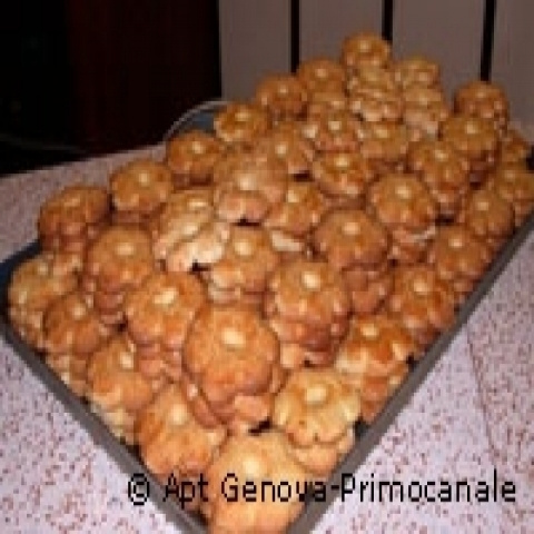 Canestrelli biscuits from Genoa Italy