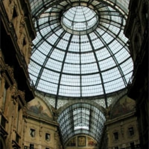 The Galleria Milan Lombardy Italy