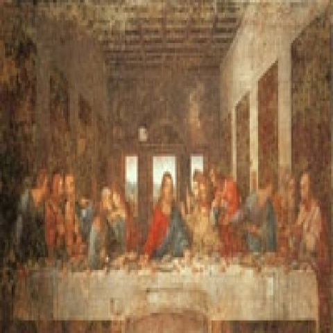 The last supper Milan Lombardy italy