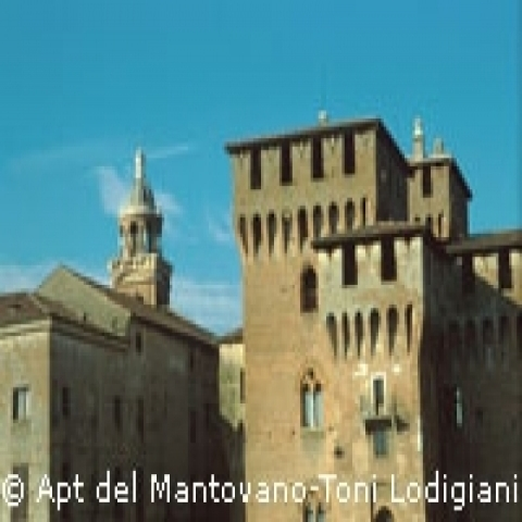 The Castle in Mantua Lombardy Italy