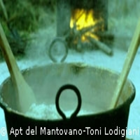 Traditional cookery Mantua Italy