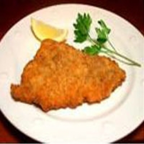 Traditional Milanese Cotoletta Milan Italy