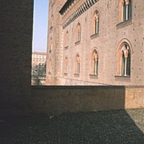 Visconteo Castle Pavia Italy