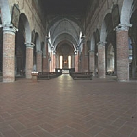 Inside the Cathedral Pavia Italy