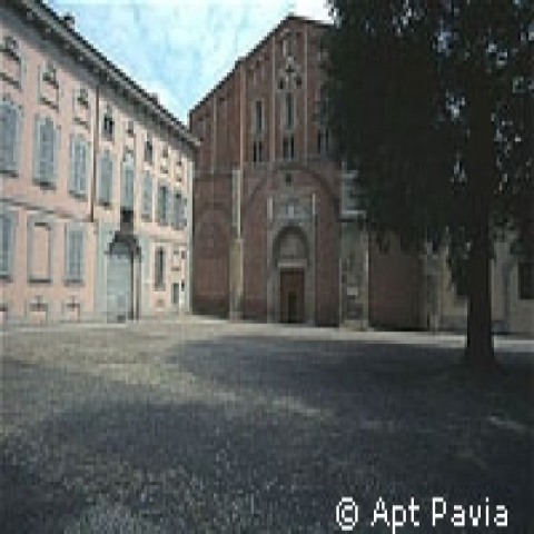S.Pietro in Ciel d'Oro Church Pavia Italy