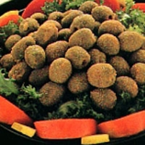 Stuffed oilves Ascolana style from Ascoli Piceno Italy
