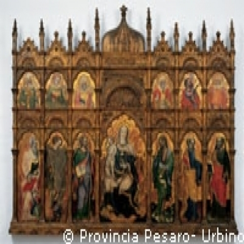 An altar piece from Urbino Italy