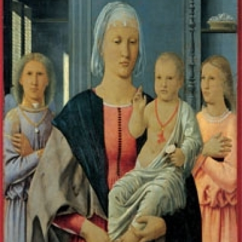 Madonna of Senigallia by Piero della Francesca in Ducal Palace Urbino Italy
