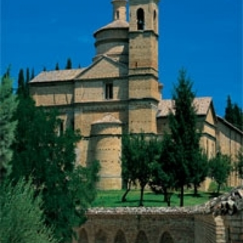 San Bernardino Church in Urbino Italy