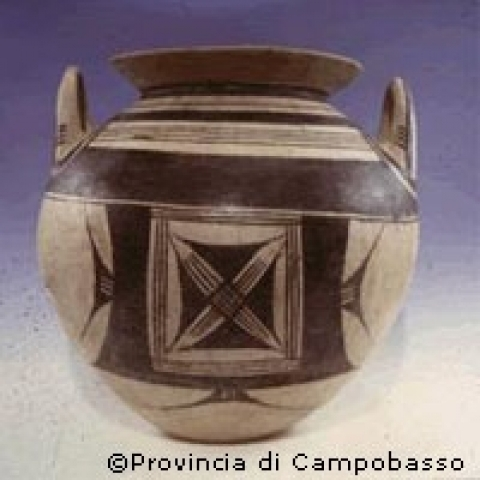 Ancient amphora from Campobasso Italy