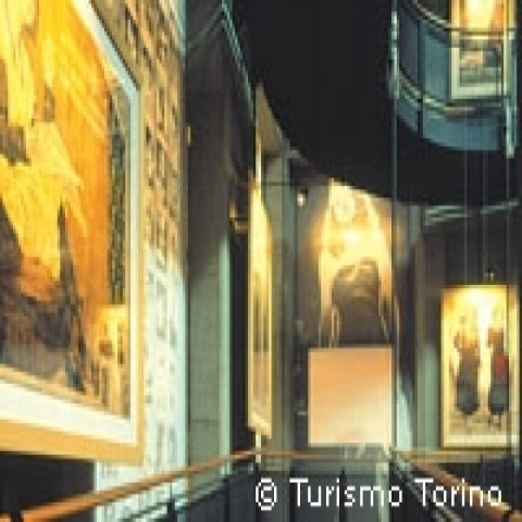Museum of art in Turin Piedmont Italy