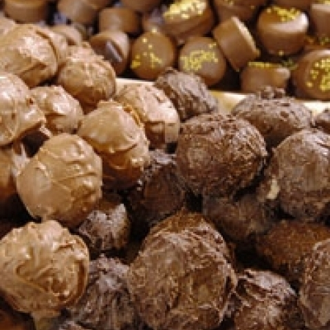 Fine chocolate candies Piedmont Italy