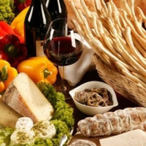 The rich gastronomy of Piedmont Italy