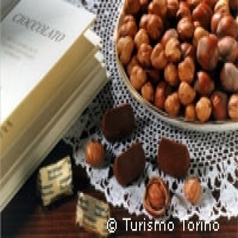 Hazelnut chocolate Piedmont Italy