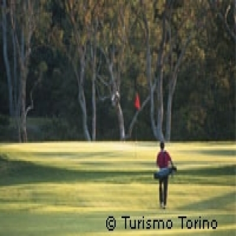 Golf course Piedmont Italy
