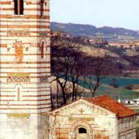 Montechiaro d'Asti Church around Asti Italy