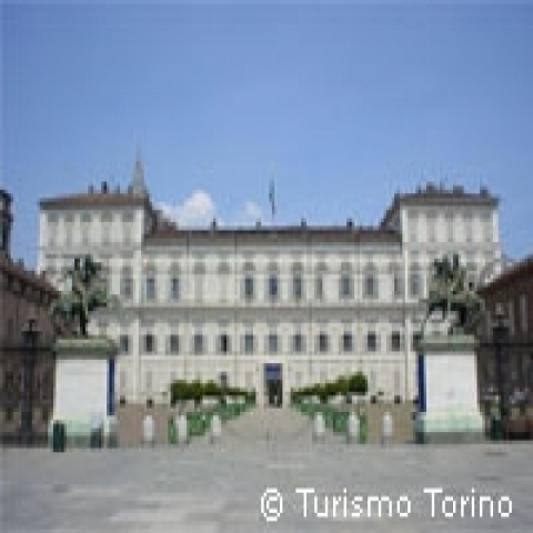 Palazzo Reale in Turin Italy
