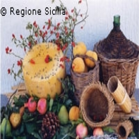 Typical specialities from Sicily Italy