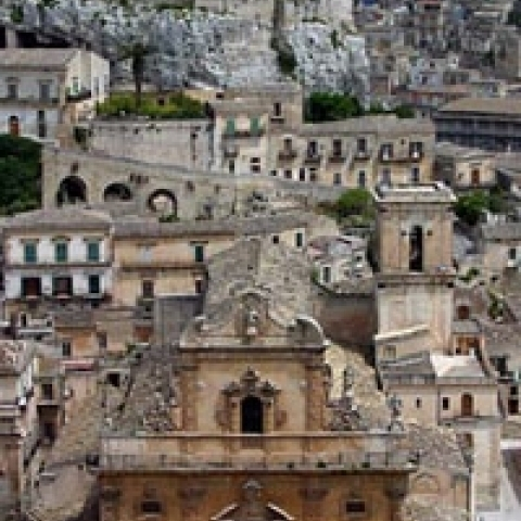 Modica main church Sicily Italy