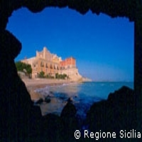 Falconara Castle in Gela Sicily Italy