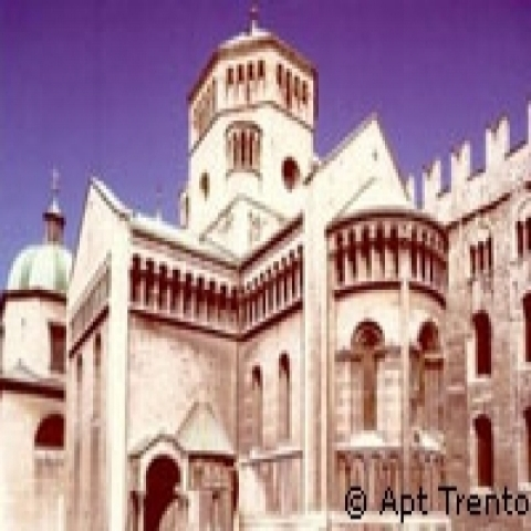 The apse of Trento Cathderal Italy