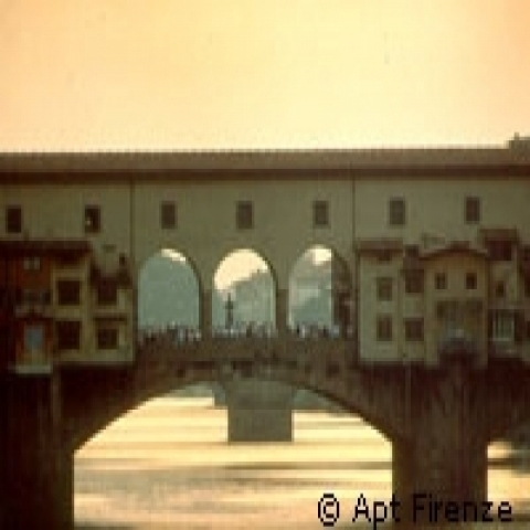 Ponte Vecchio in Florence Tuscany Italy