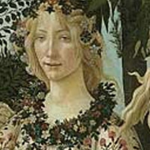 The Primavera by Botticelli in Florence Tuscany Italy