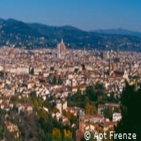 A panoramic view of Florence Italy