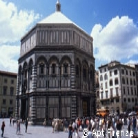 The Baptistery in Florence Italy
