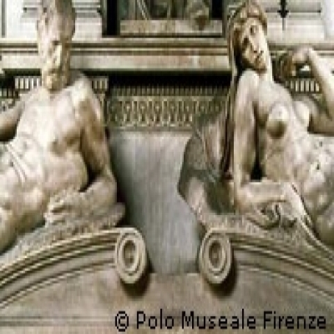 Medici's tombs by Michelangelo Florence Italy