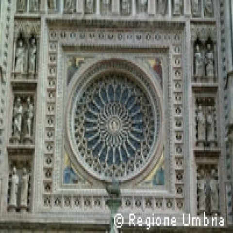 Decoration of Orvieto Cathedral Umbria Italy