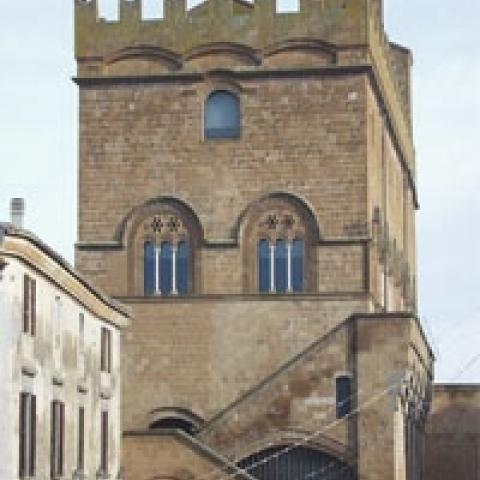 Town hall in Orvieto Umbria Italy