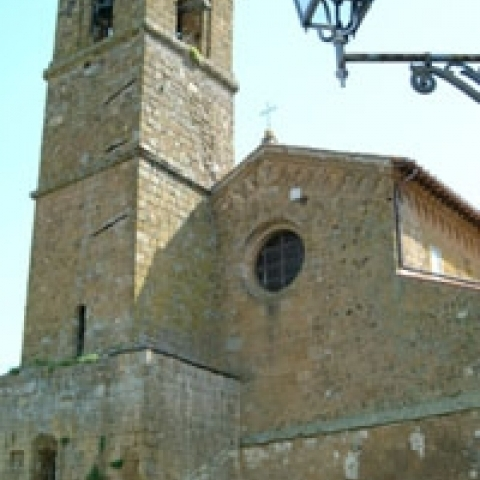 San Giovenale Church in Orvieto Umbria Italy