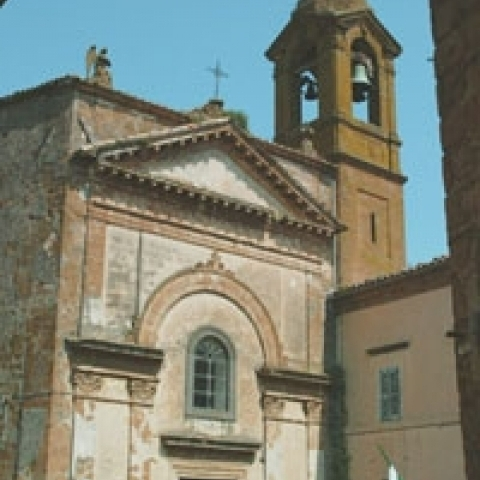 San Giovanni church in Orvieto Umbria Italy