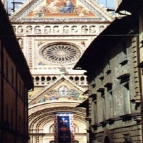 A view of the Orvieto Cathedral Umbria Italy