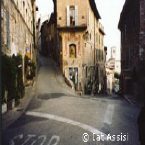 A glimpse of Assisi Italy