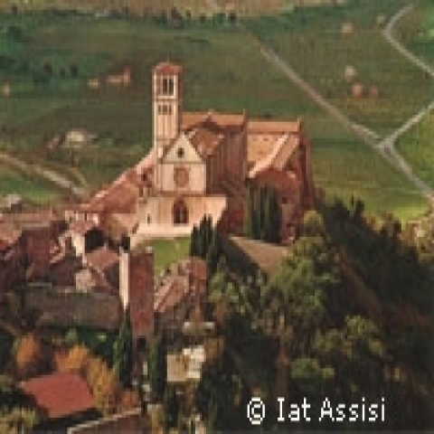 A view of Assisi Italy