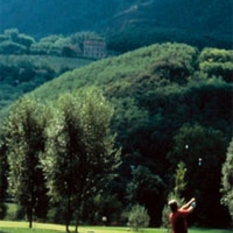 Golf course in Veneto Italy