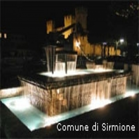 Sirmione by night Lake Garda Italy