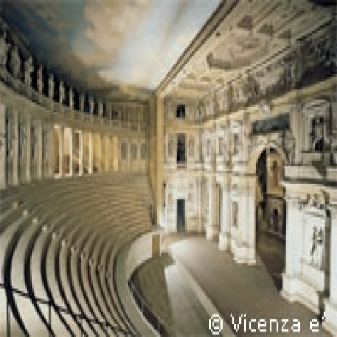 The Olympic Theater in Vicenza Italy