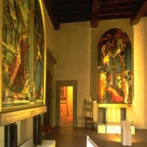Inside Guarnacci Museum Volterra Italy