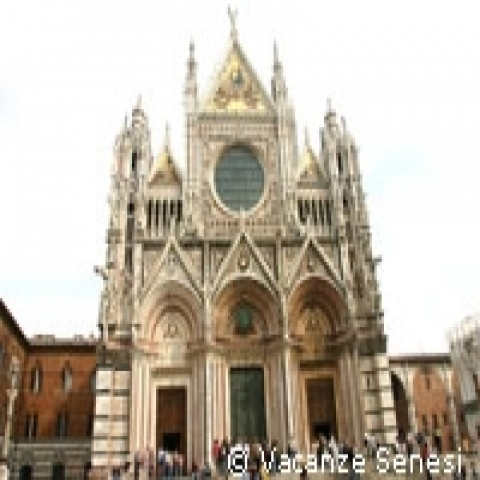 A view of Siena Cathedral Italy