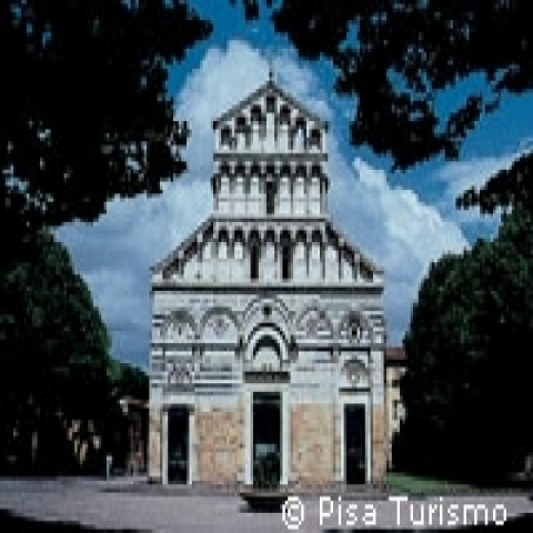 Church of San Paolo a Ripa D'Arno in Pisa Italy