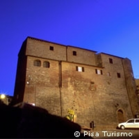 A fortress in Pisa county Italy