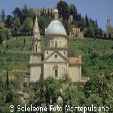 San Biagio church in Montepulciano Italy